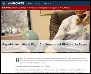 Hector DeLeon in NBC News